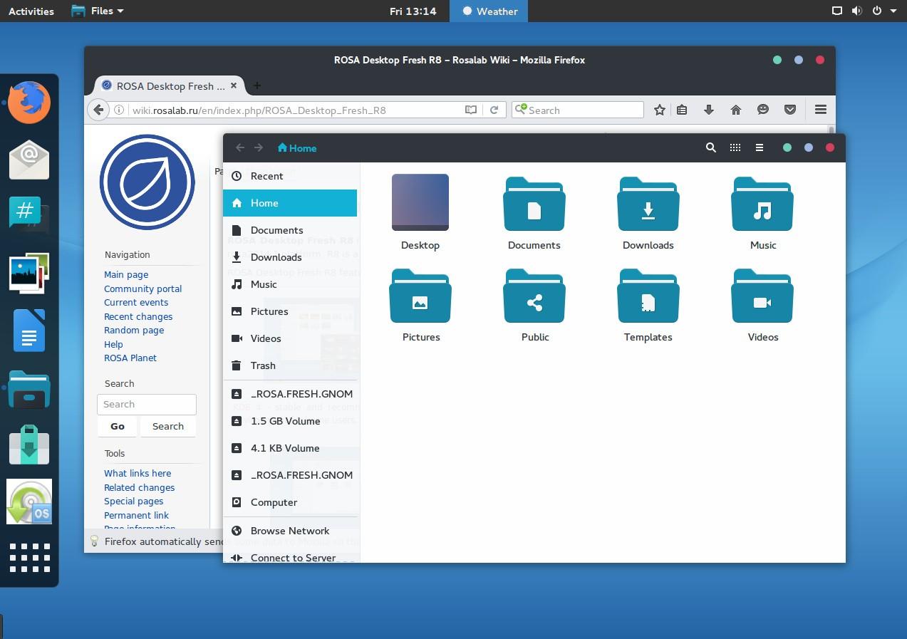 ROSA Desktop Fresh R8 Linux Ships with KDE 4, Plasma 5