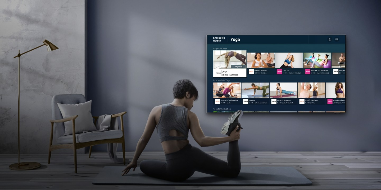 Samsung Health platform now available on 2020 Smart TV models
