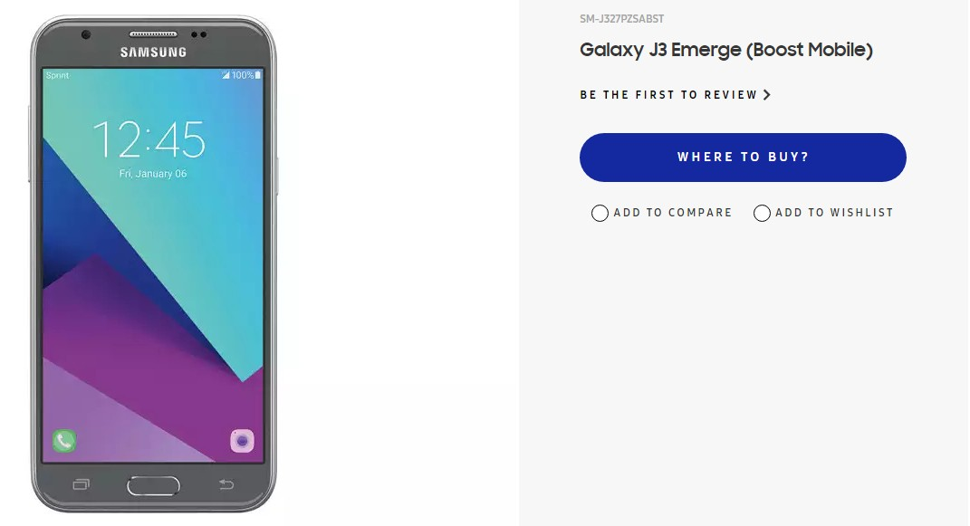 Samsung Galaxy J3 2020 Review.Samsung Galaxy J3 Emerge Up For Pre Order In The Us For 235
