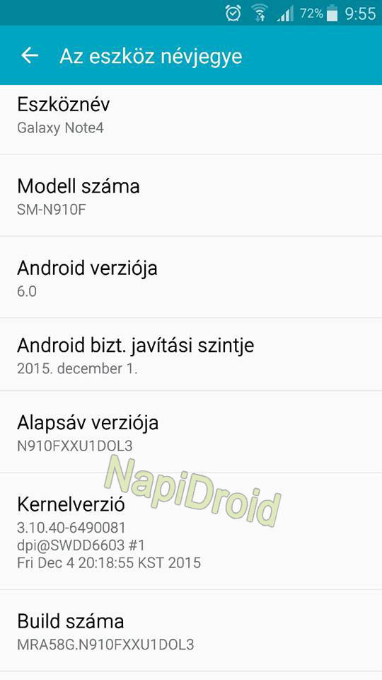 Samsung Galaxy Note 4 Receiving Android 6.0 Marshmallow ...