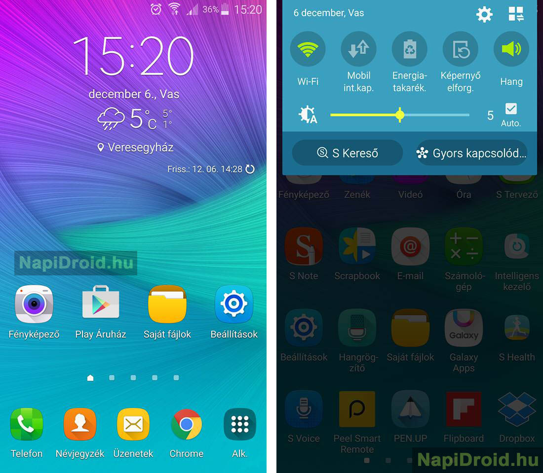 Samsung Galaxy Note 4 Receiving Android 6 0 Marshmallow