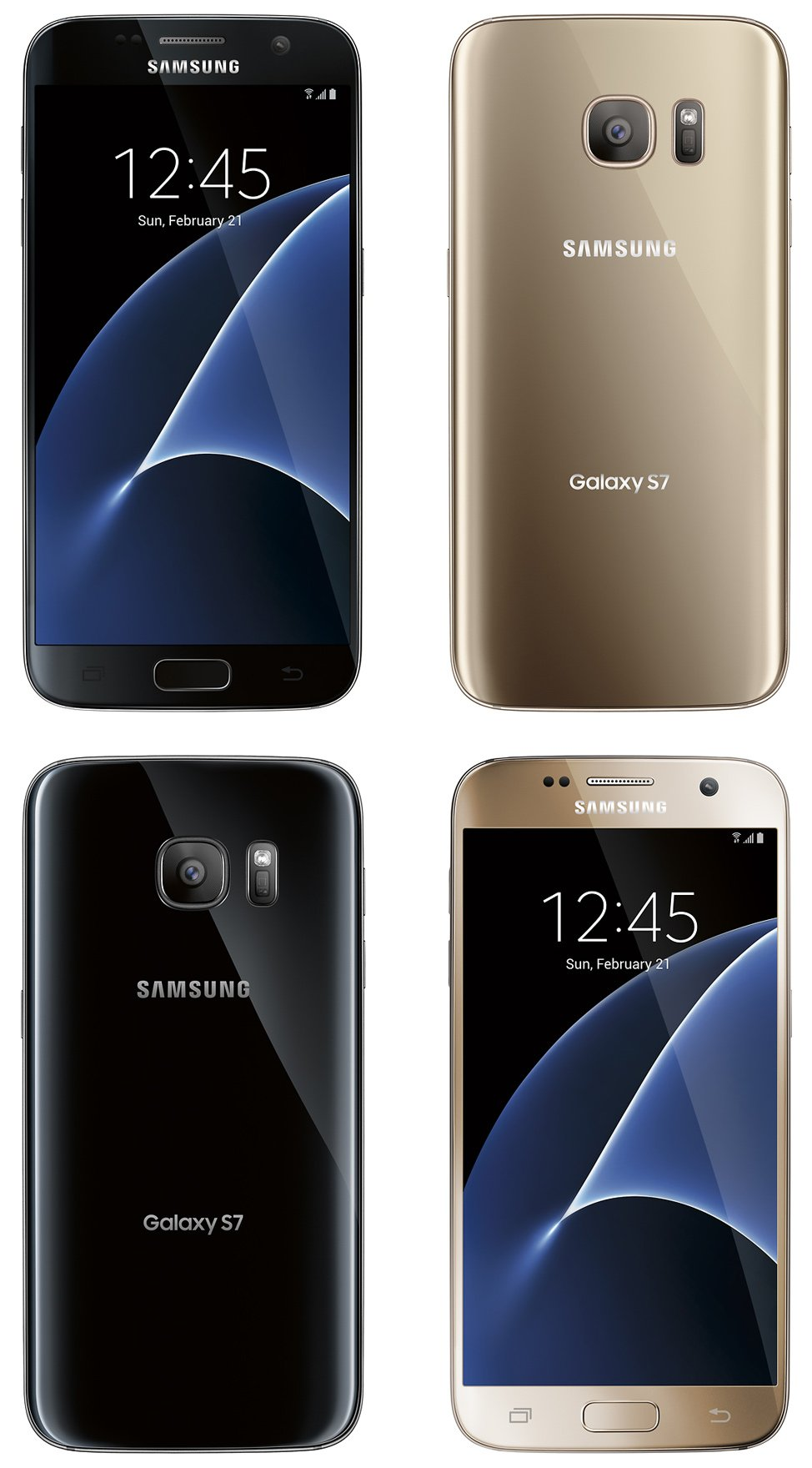 Samsung Galaxy S7 Press Pictures Show The True Beauty Of The