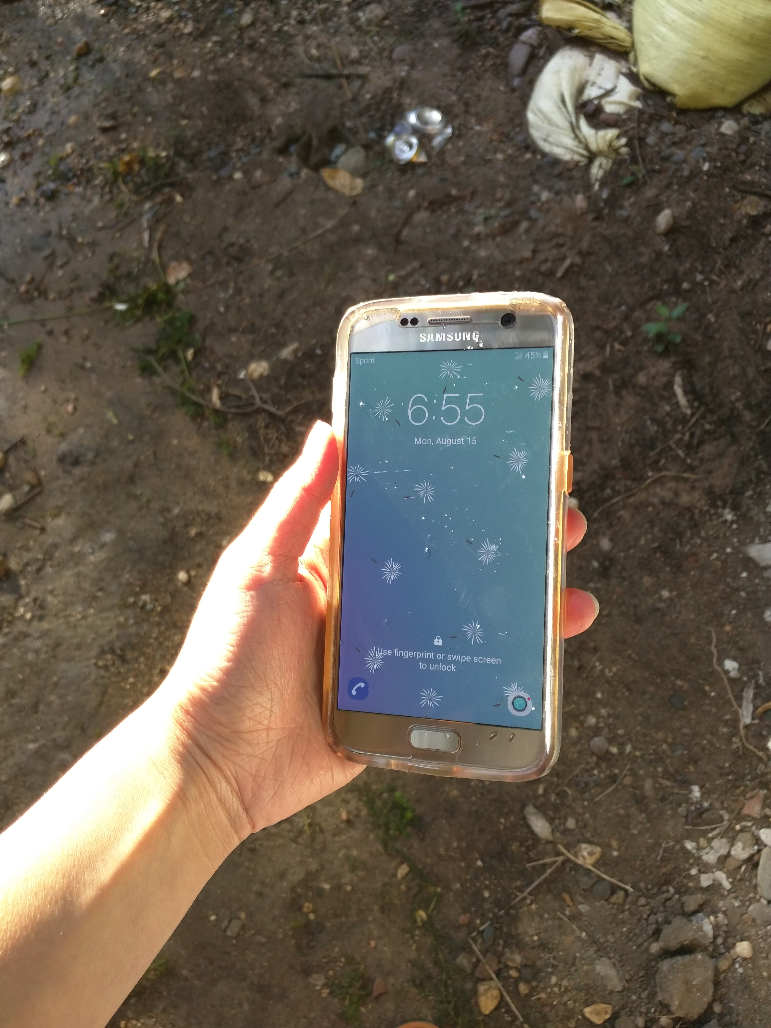 Samsung Galaxy S7 Unit Still Works After Spending Two Hours