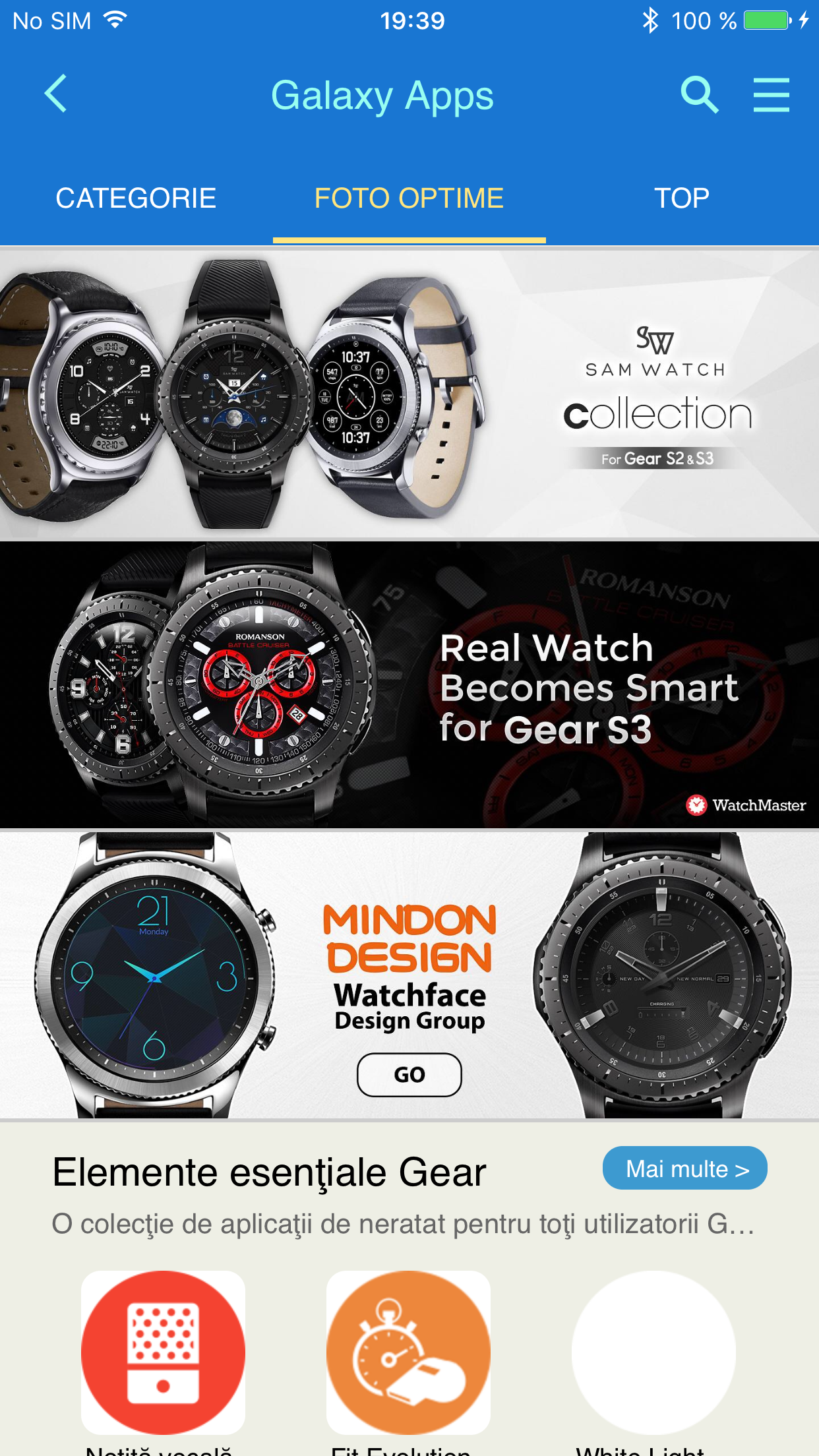 Samsung Gear Manager for iOS Leaked, Lets You Use Gear S2/S3 with