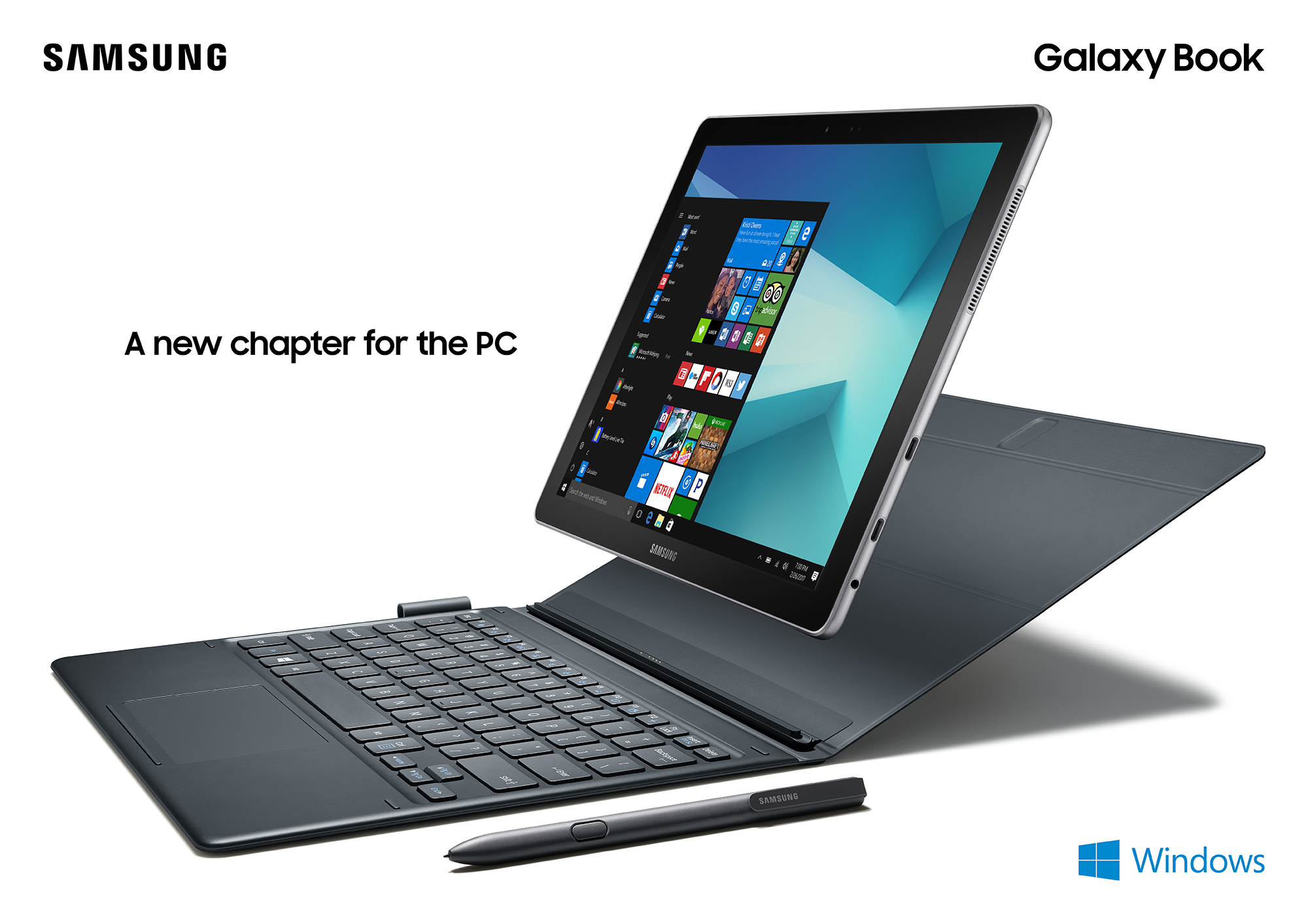Book Cover Tab S3 ~ Samsung introduces galaxy book in 10.6 and 12 inch variants