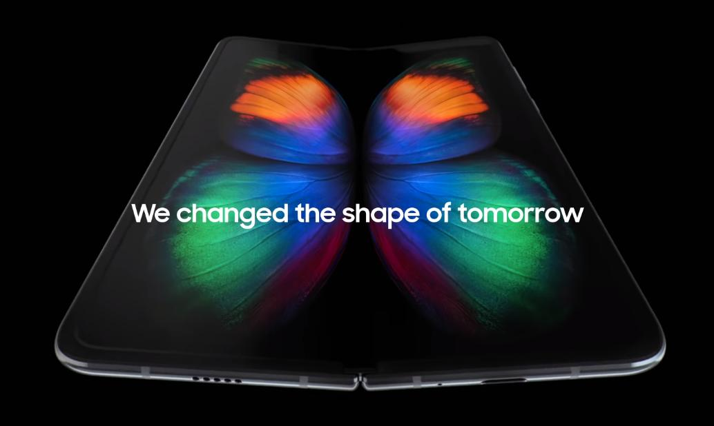 The Debut of Samsung Galaxy Foldable Worth $2000