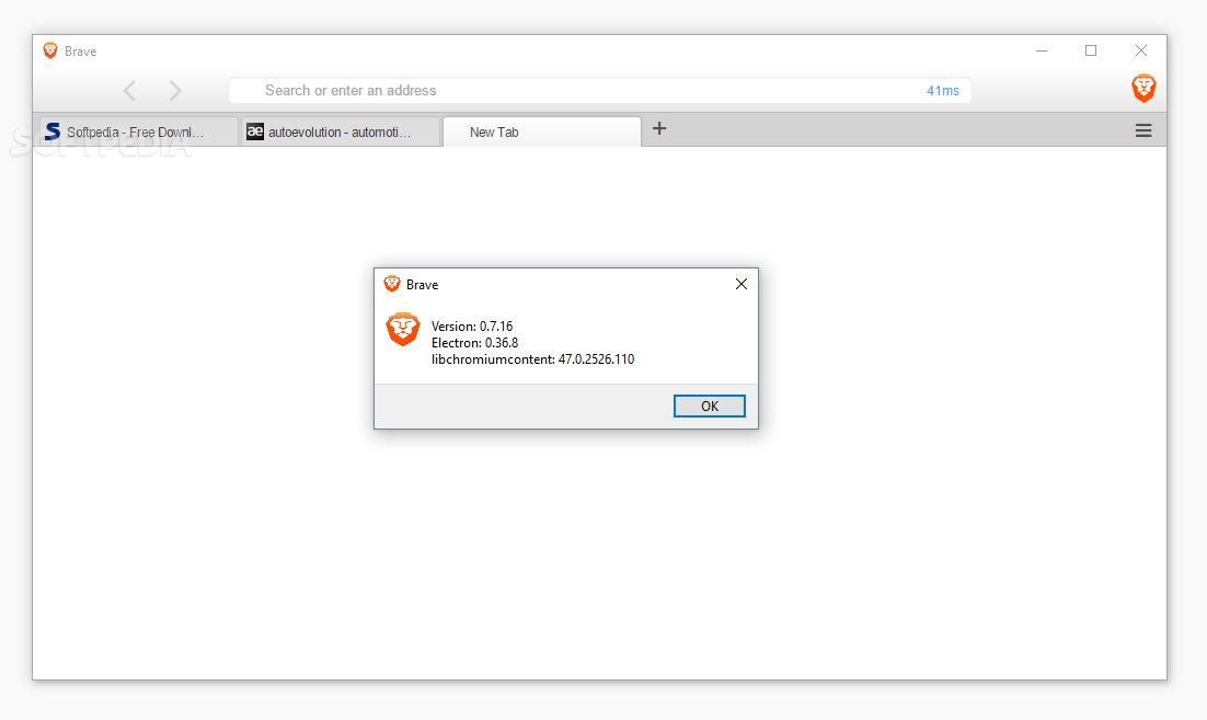 Screenshot Tour: Brave - The Chromium-Based Browser Built by