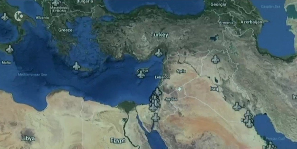 map of us and israeli military bases