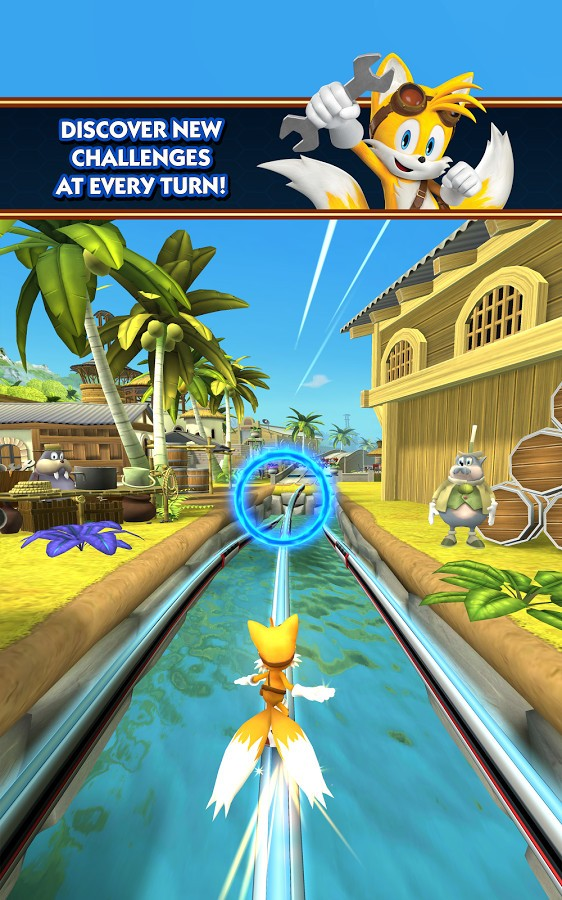 SEGA Unleashes Sonic Dash 2: Sonic Boom on Android - Updated