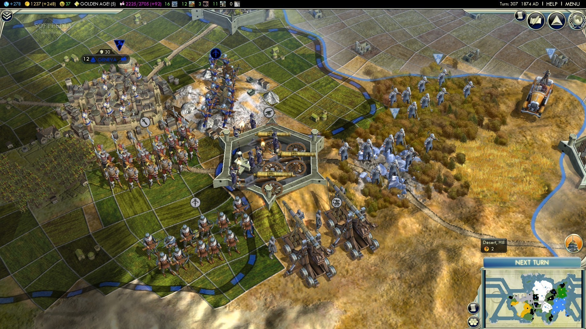 Sid meier's civilization v game mod simply more civs v. 2. 0a.