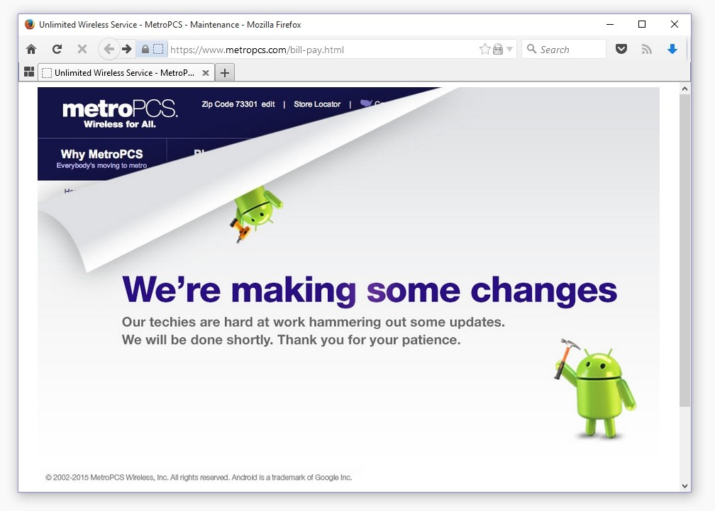 Software Bug in MetroPCS Website Dumps User Data in Cleartext