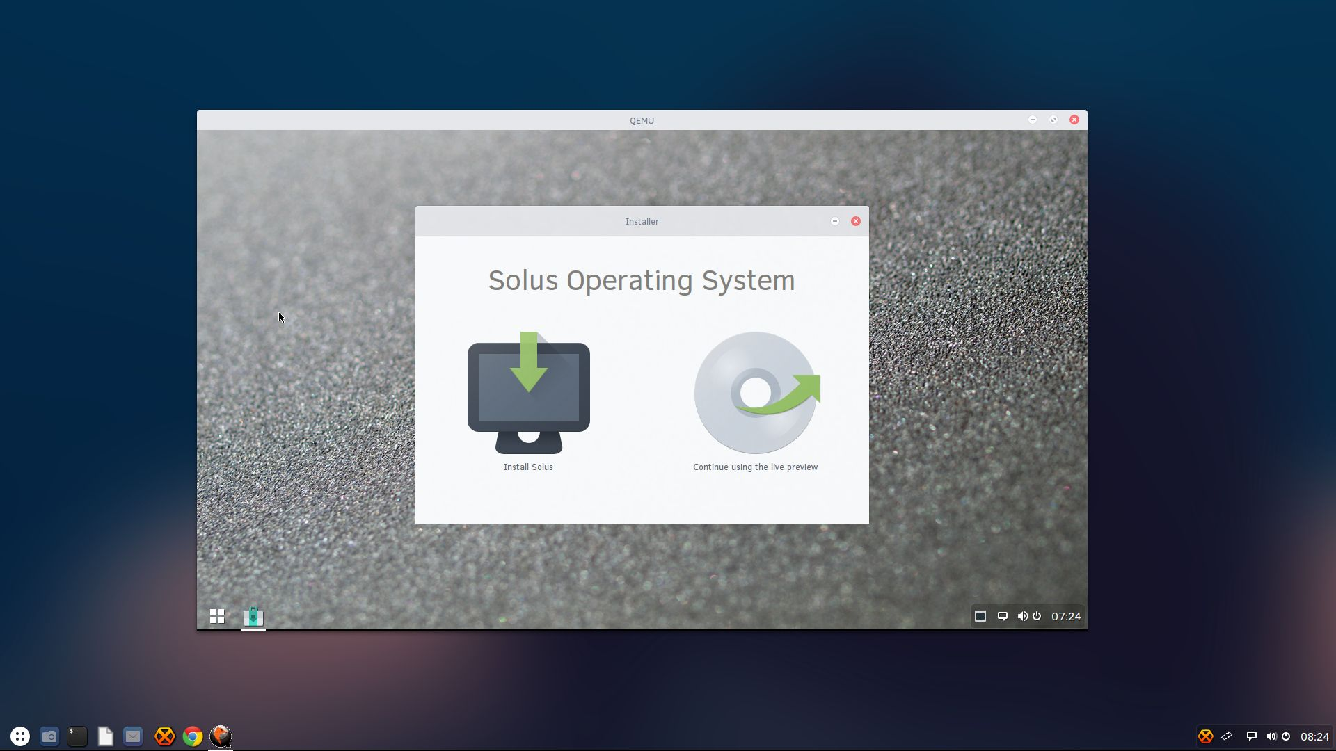 Solus Gets Linux Kernel 4 1 1 LTS and UEFI Fixes