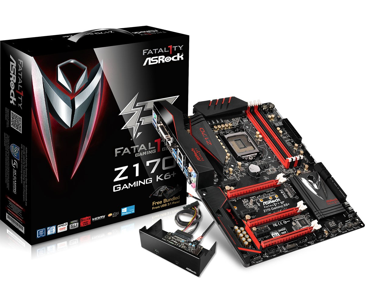Some of ASRock's Z170 Boards Receive New BIOS - Download Now