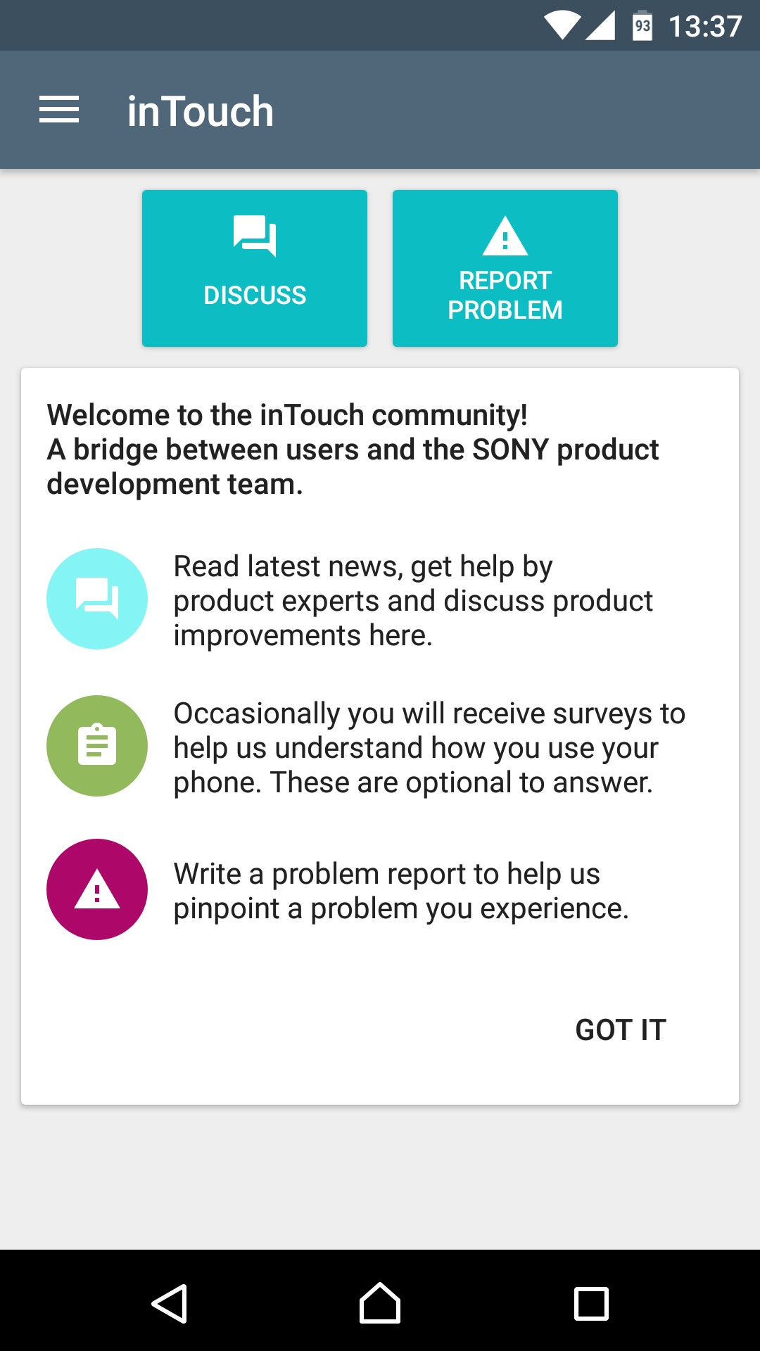 """Sony """"Concept for Android"""" Based on Nougat Released for ..."""