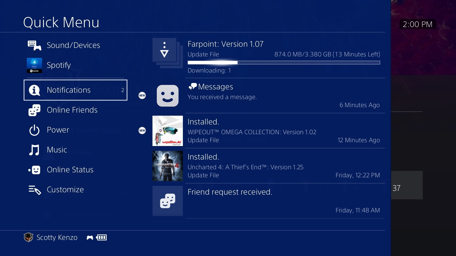 Sony Rolls Out PS4 System Software Update 5 00 Nobunaga