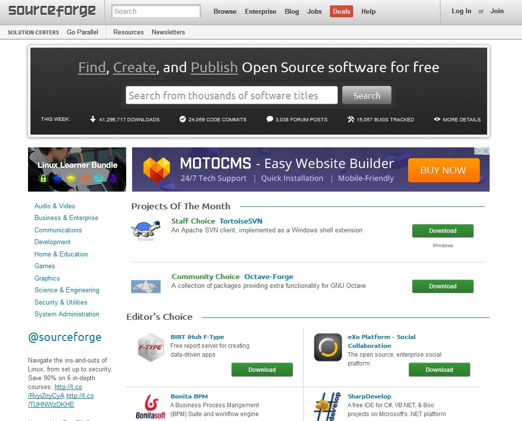 SourceForge and Slashdot Are Up for Sale