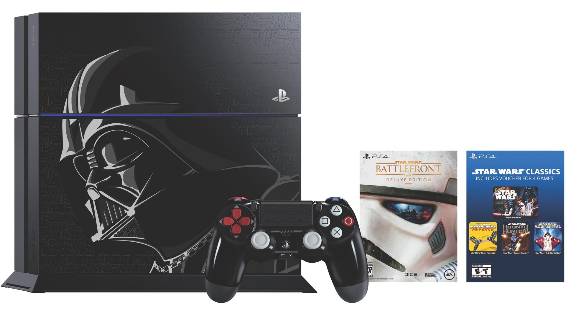 Star Wars Battlefront Playstation 4 Bundle Also Has Standard Edition 500 Gb Drive