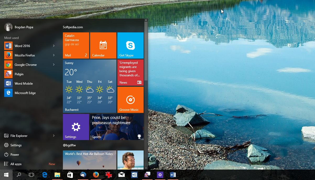 Start Menu and Cortana Experiencing Critical Error on Windows 10