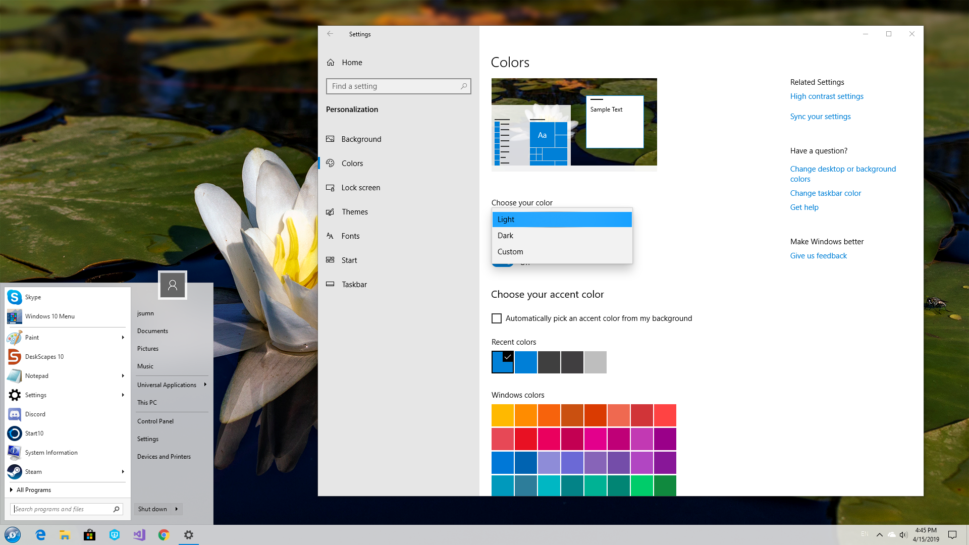 Start10 Start Menu App Gets Support for Windows 10 Version 1903