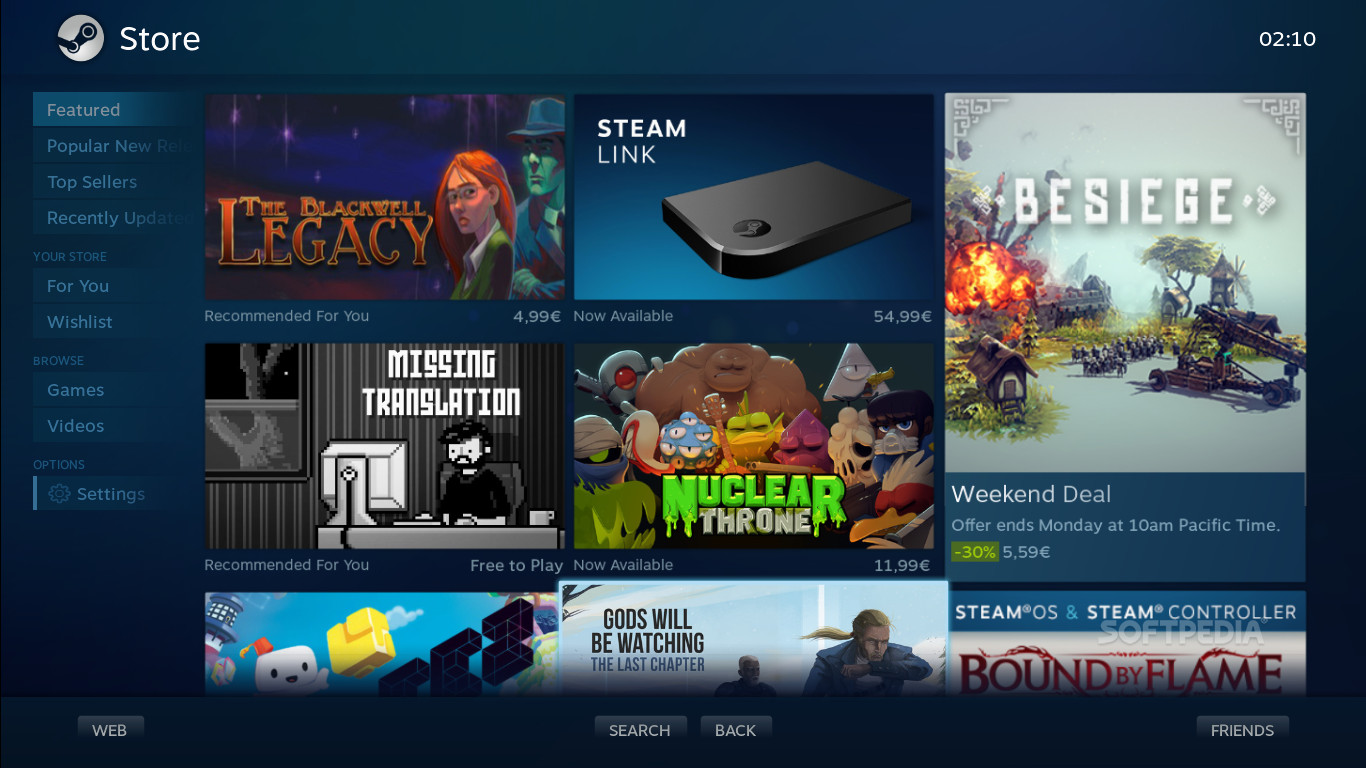 Steam for Linux Now Correctly Shows Only SteamOS/Linux Games