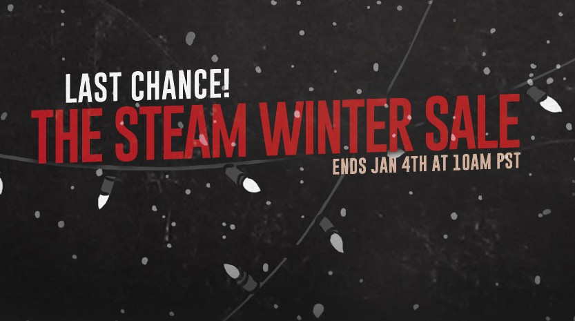 Steam Winter Sale Ends Today, Last Chance to Get Some Big