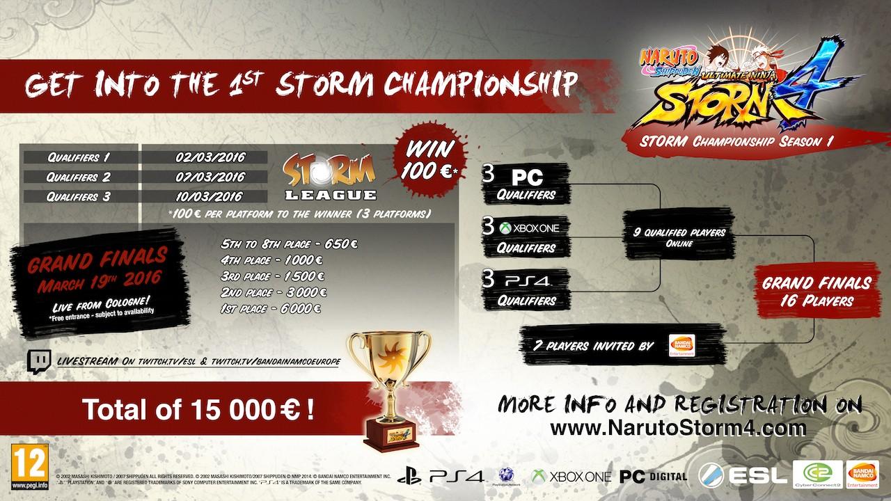 Storm Championship Season 1 Comes to Naruto Shippuden: Ultimate