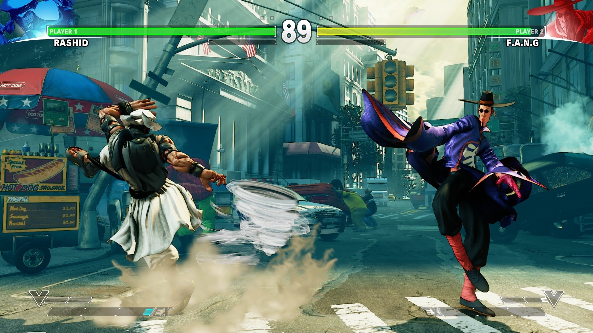 Street Fighter V Out on PC and PlayStation 4 with Cross