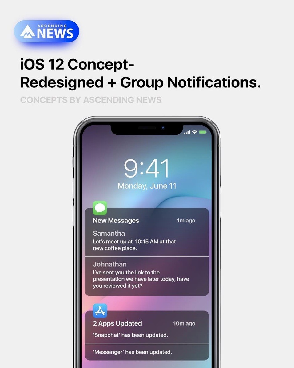 Stunning iOS 12 Concept Proposes Guest Mode, Always-On Display