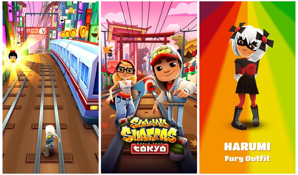 subway surfers for windows phones