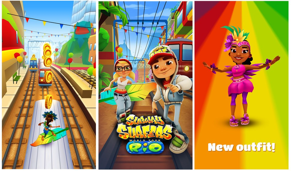 Subway Surf Costumes & Rosa Sc 1 St Subway Surfers