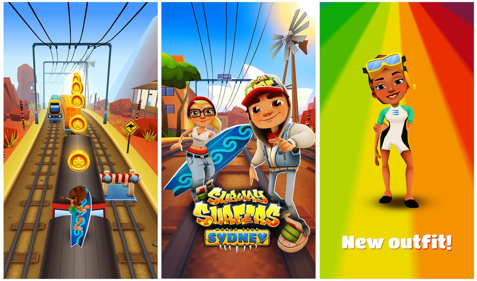 Subway Surfers For Windows Phone Android Ios Adds World Tour To