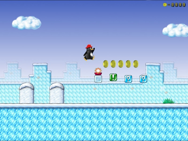 Super Mario Clone SuperTux 0 5 0 Is Out with In-Game Level Editor