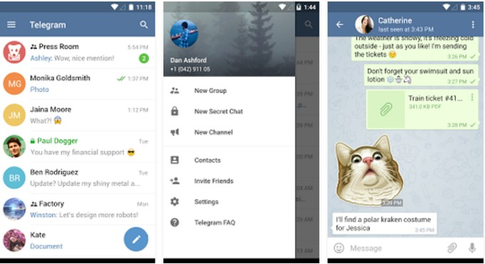 Telegram Ends Support for Android 2 2, 2 3 and 3 0 Starting 2017