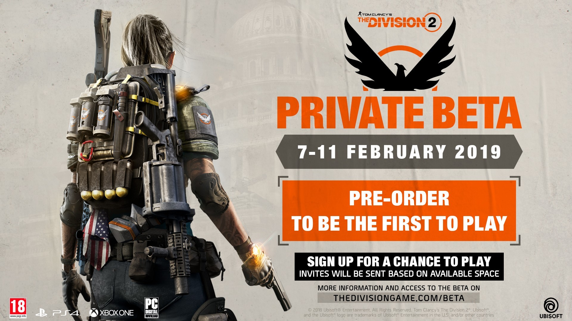 The Division 2 Beta to Offer a Glimpse at End-Game Content