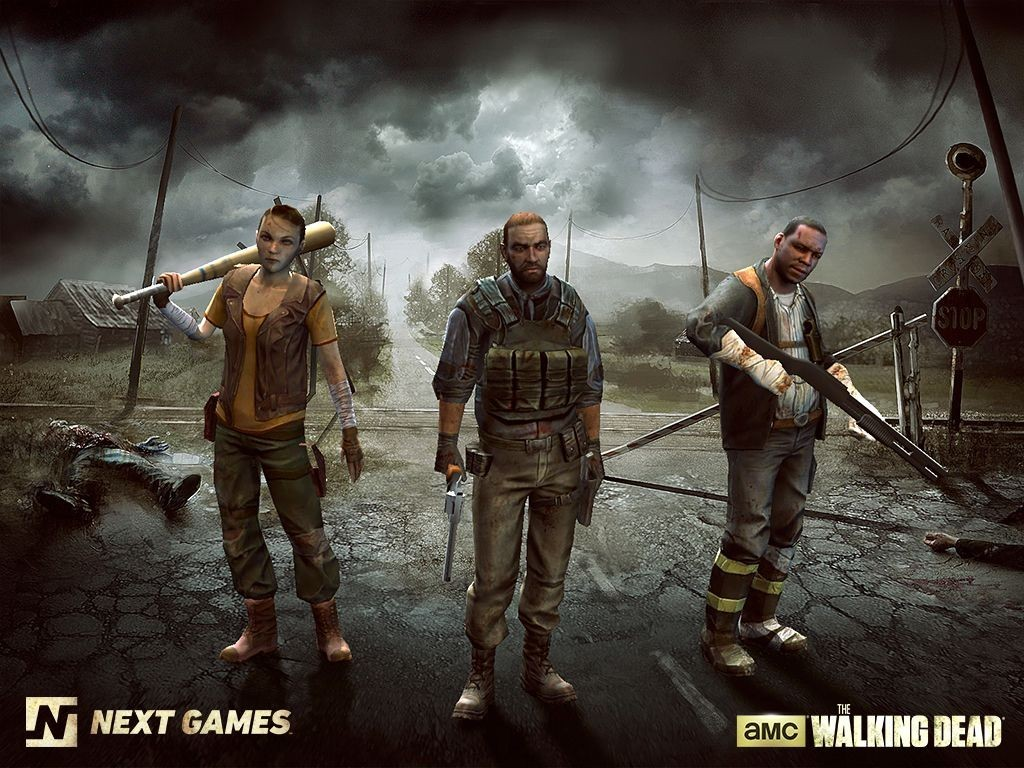 the walking dead: no man's land mobile game based on zombie tv