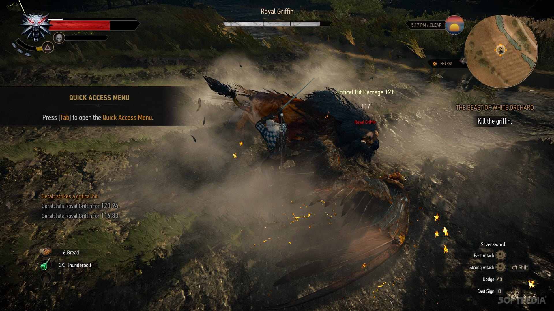 The Witcher 3 Patch 1 07 Alternate Geralt Controls Get Detailed