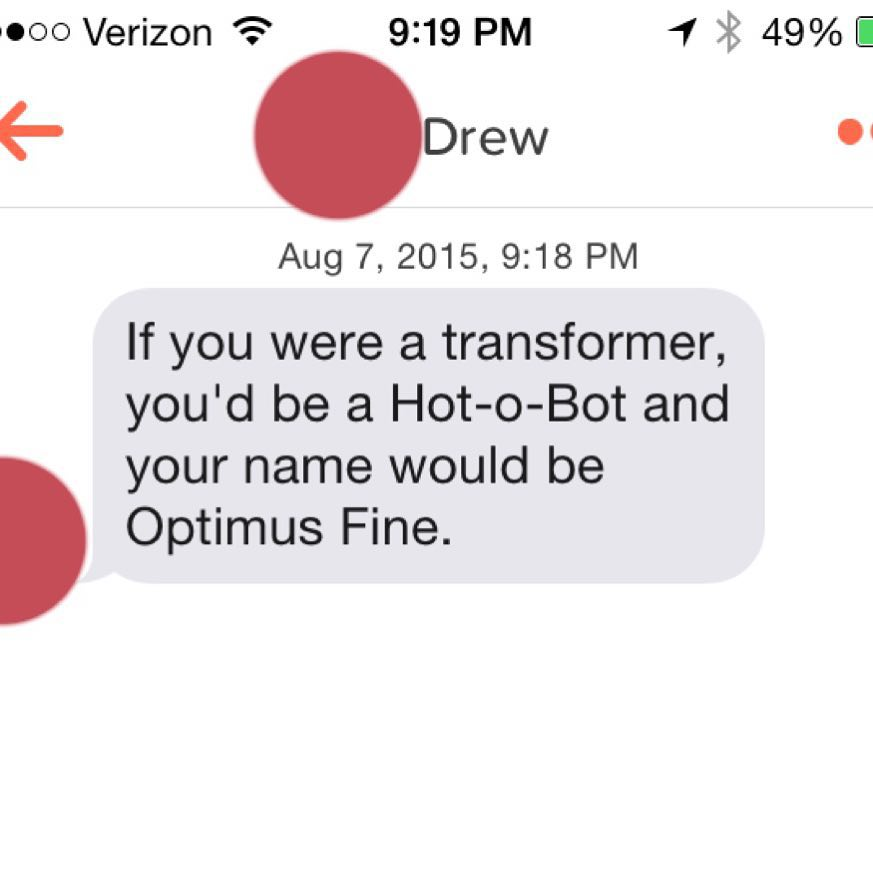 The Worst Tinder Pickup Lines Have Their Own Instagram Account