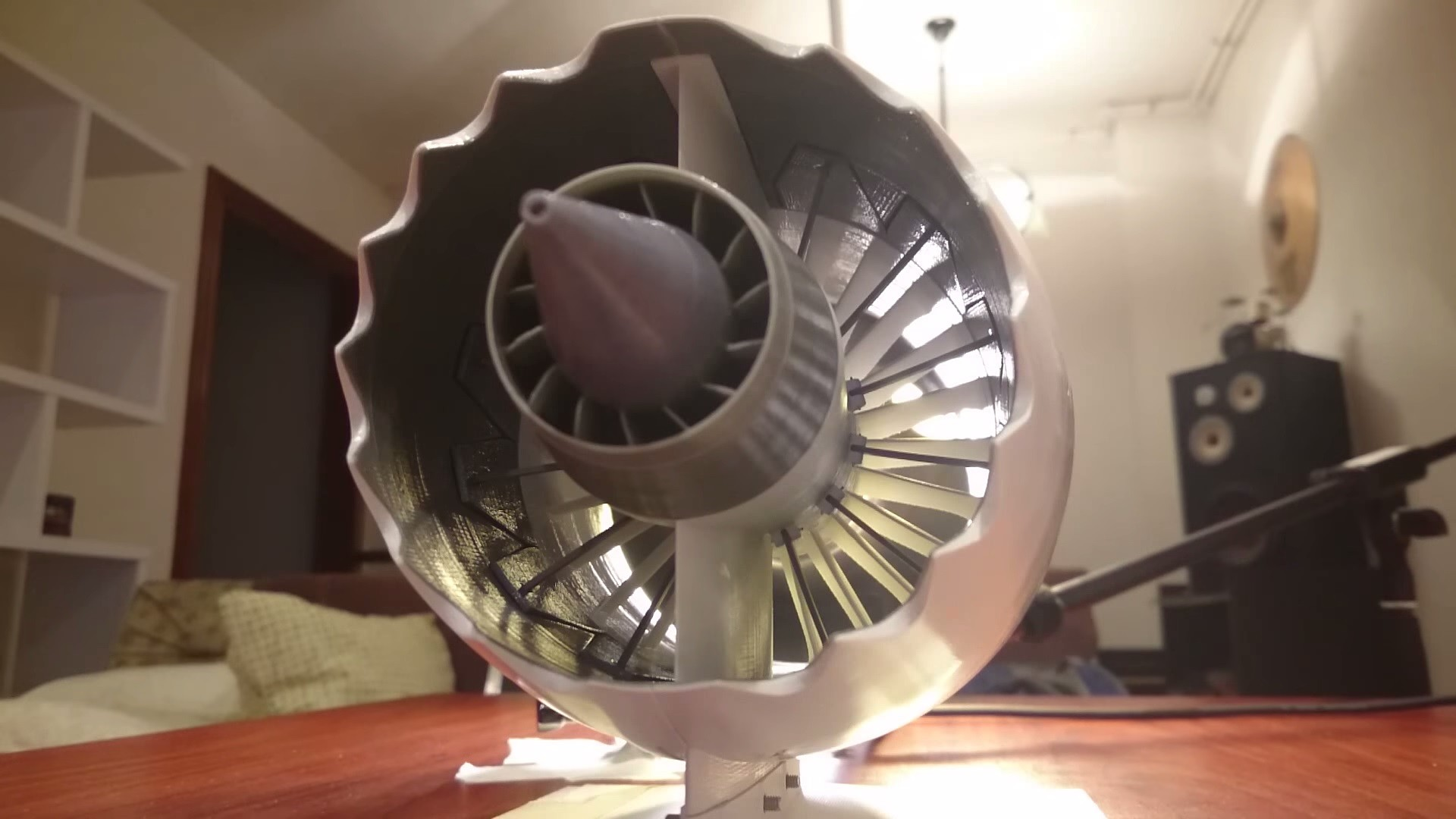 This 3d Printed Jet Engine Is Hypnotising