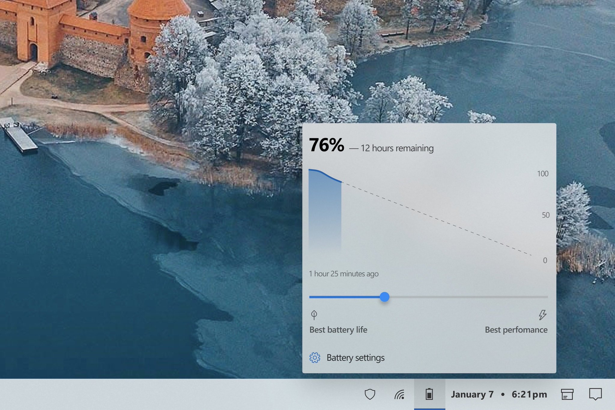 This Android-Inspired Windows 10 Battery Flyout Really Isn ...