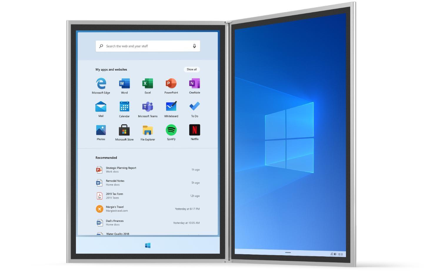 Windows 10 Start Bilder