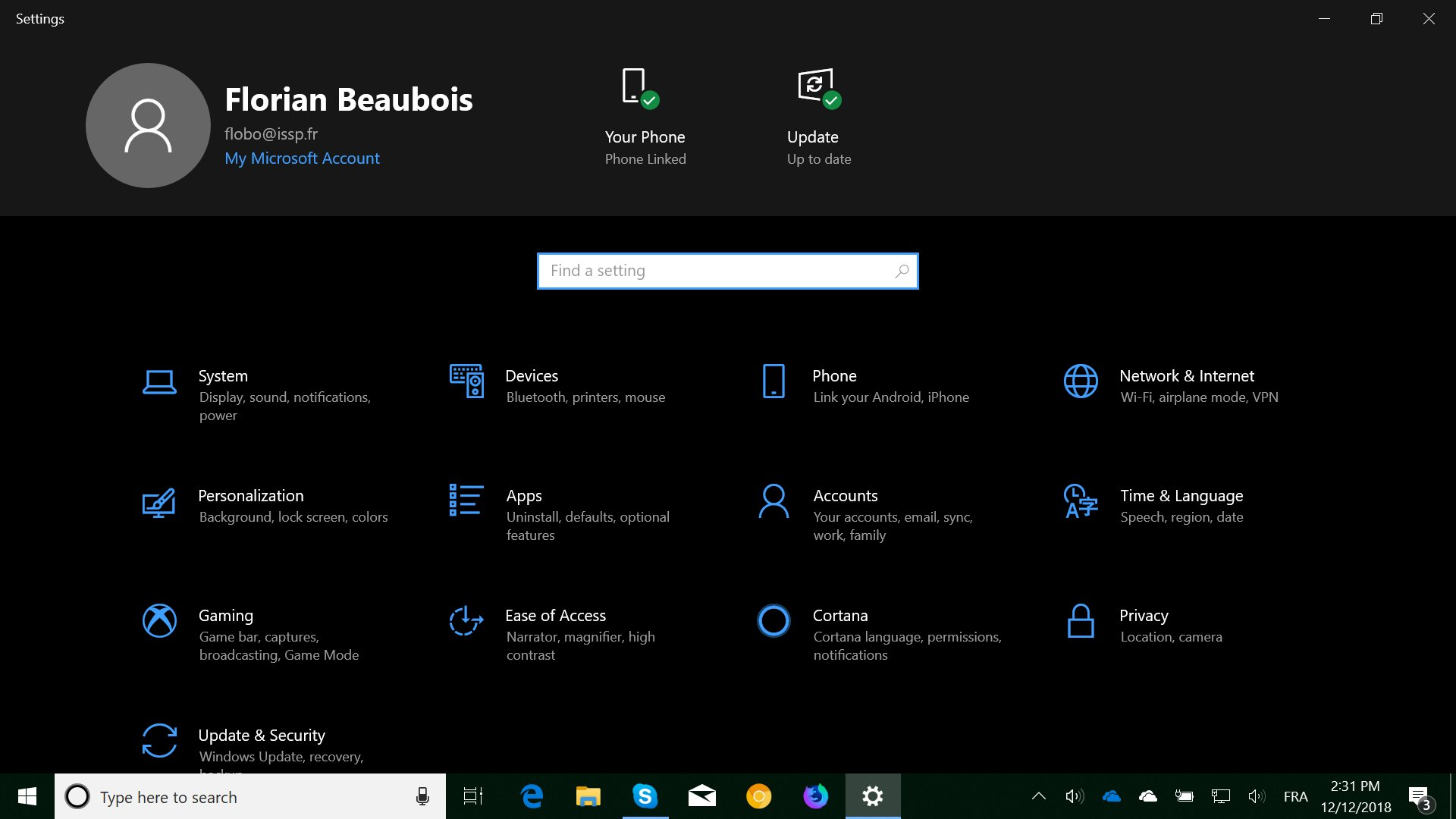 This Is What Settings Could Look Like in Windows 10 19H1