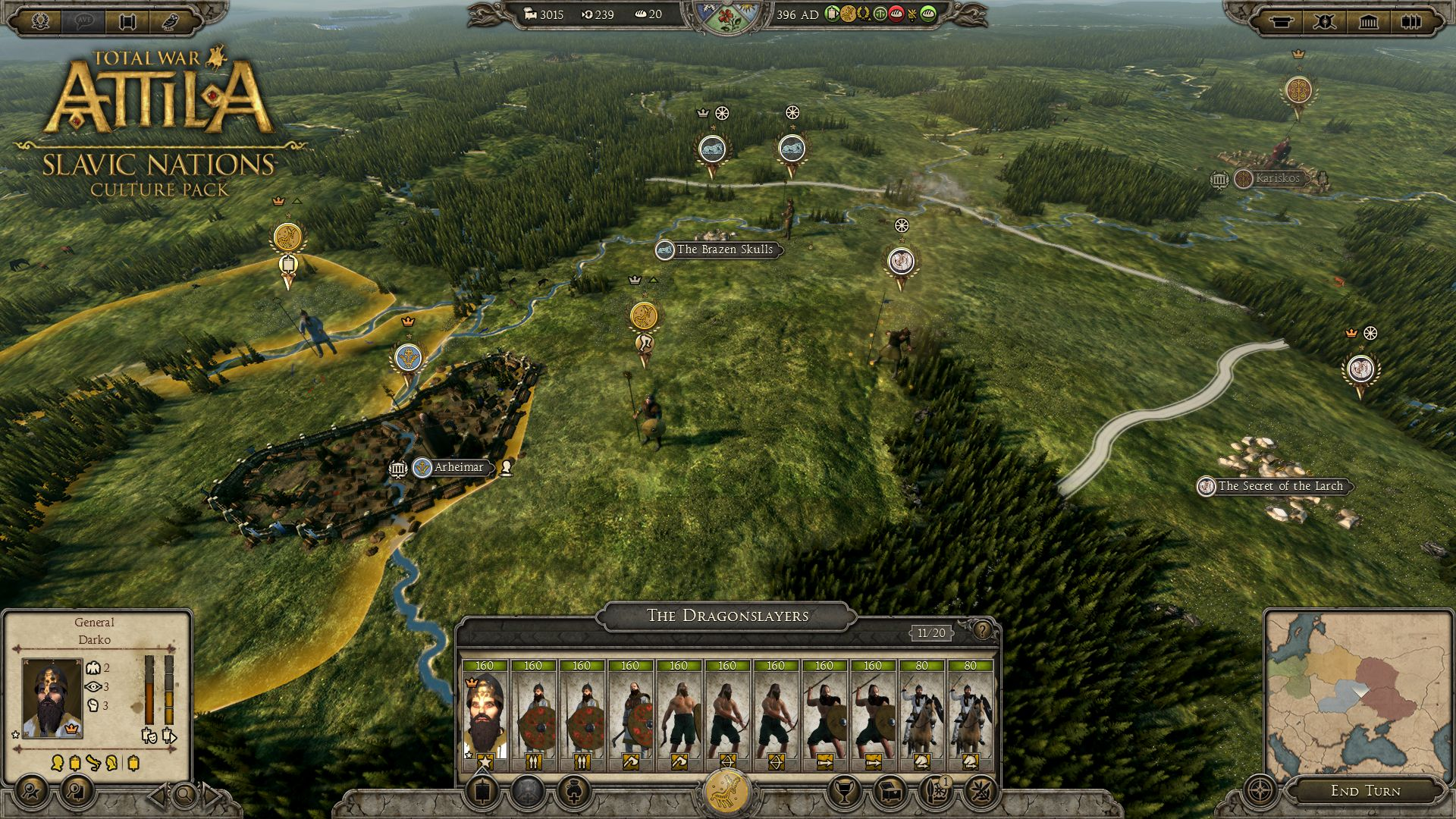Total War: Attila Offers Free Garamantian Faction, Extensive Patch