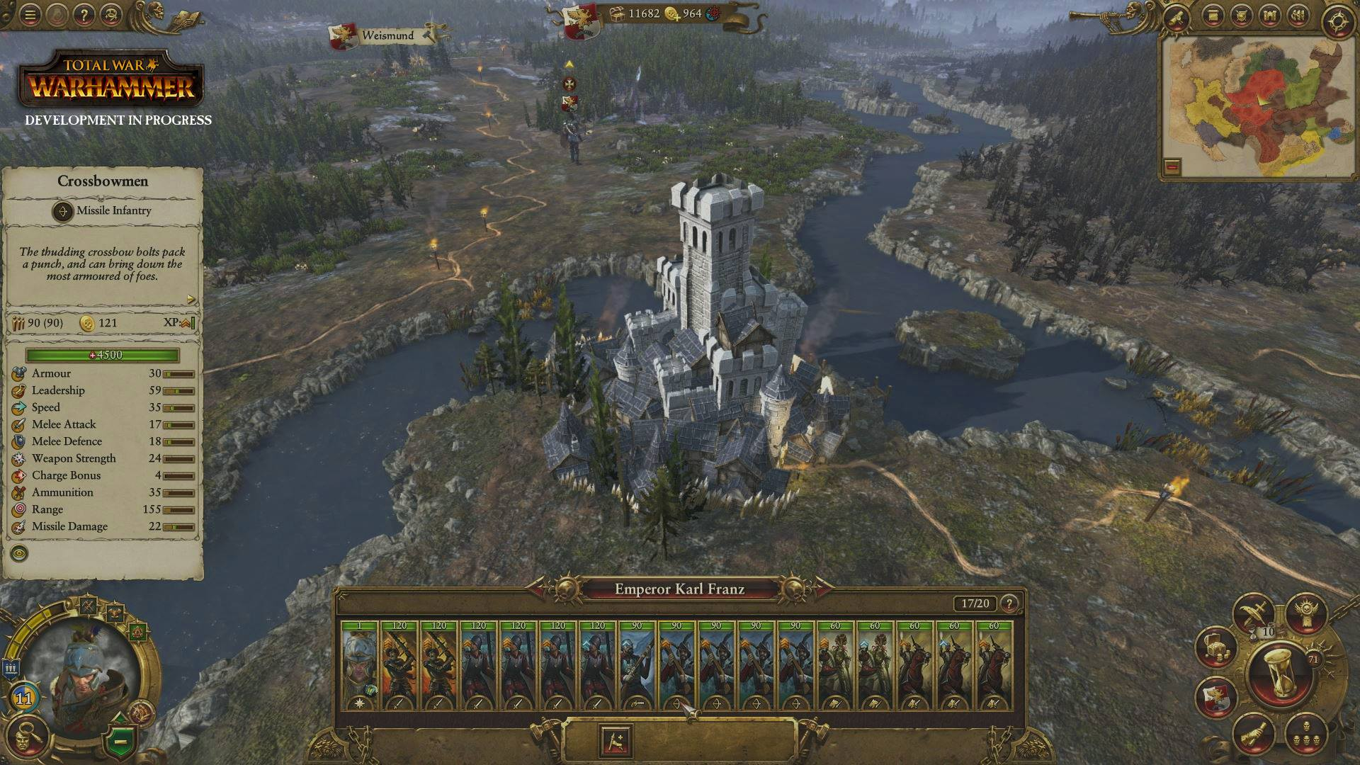Total war warhammer empire video features unique strategy map mechanics the empire is ready for battle in total war warhammer gumiabroncs Image collections