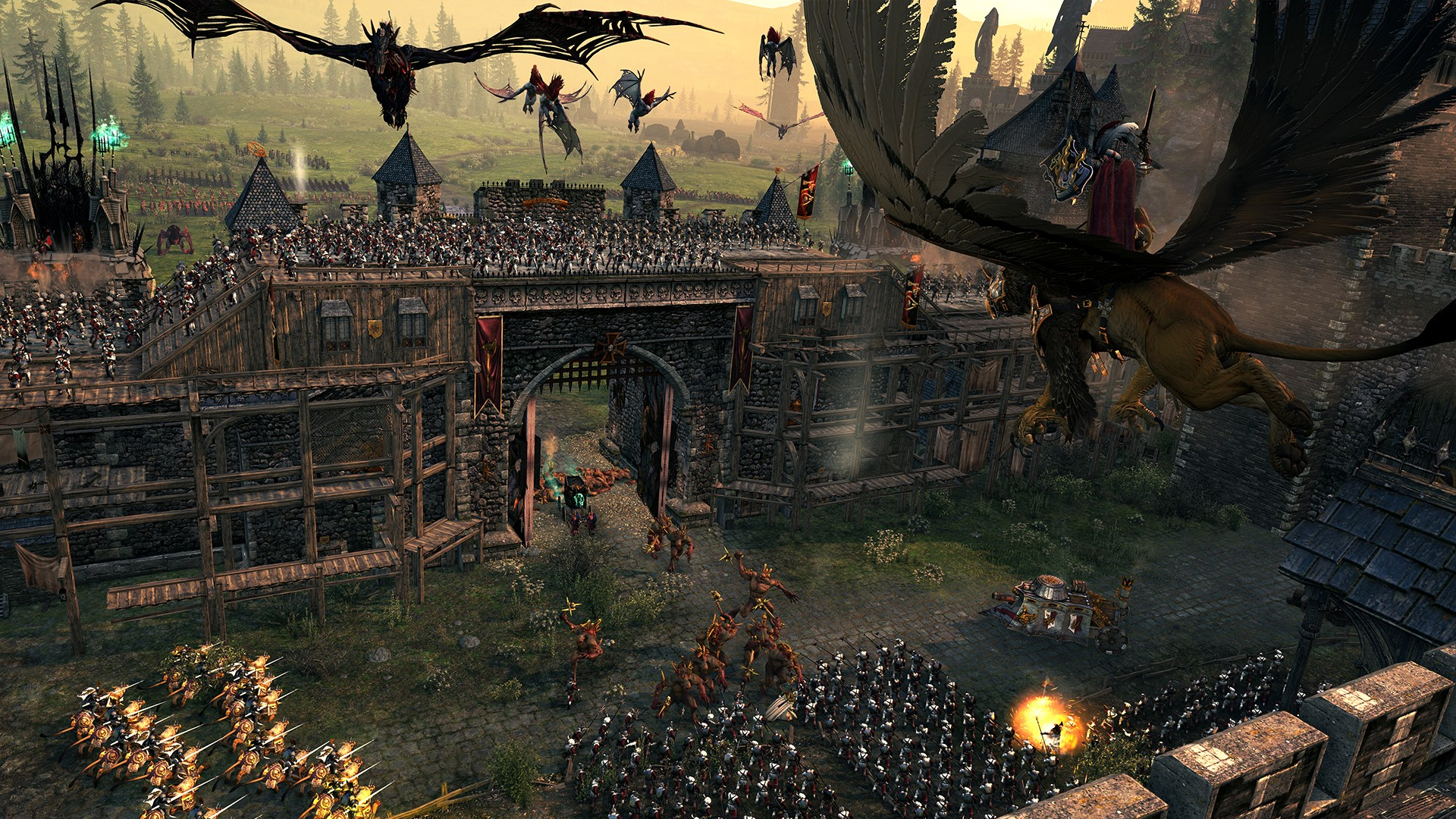 Total War: WARHAMMER Out Now for Linux and SteamOS, Ported