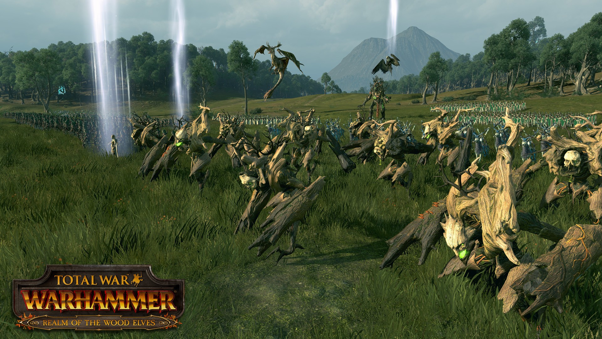 Total war: warhammer - realm of the wood elves download free