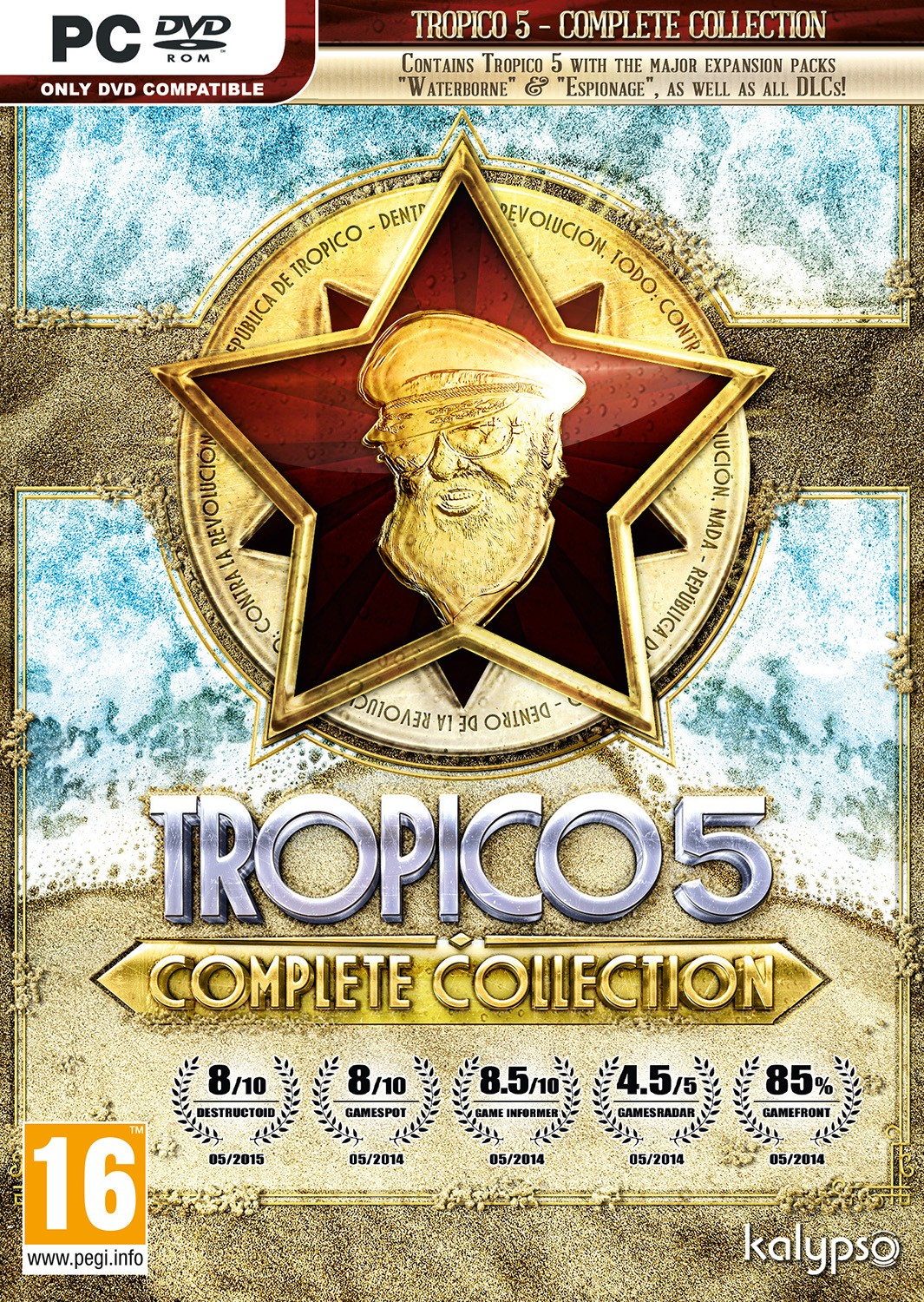 Buy tropico 5 (steam key / region free) and download.
