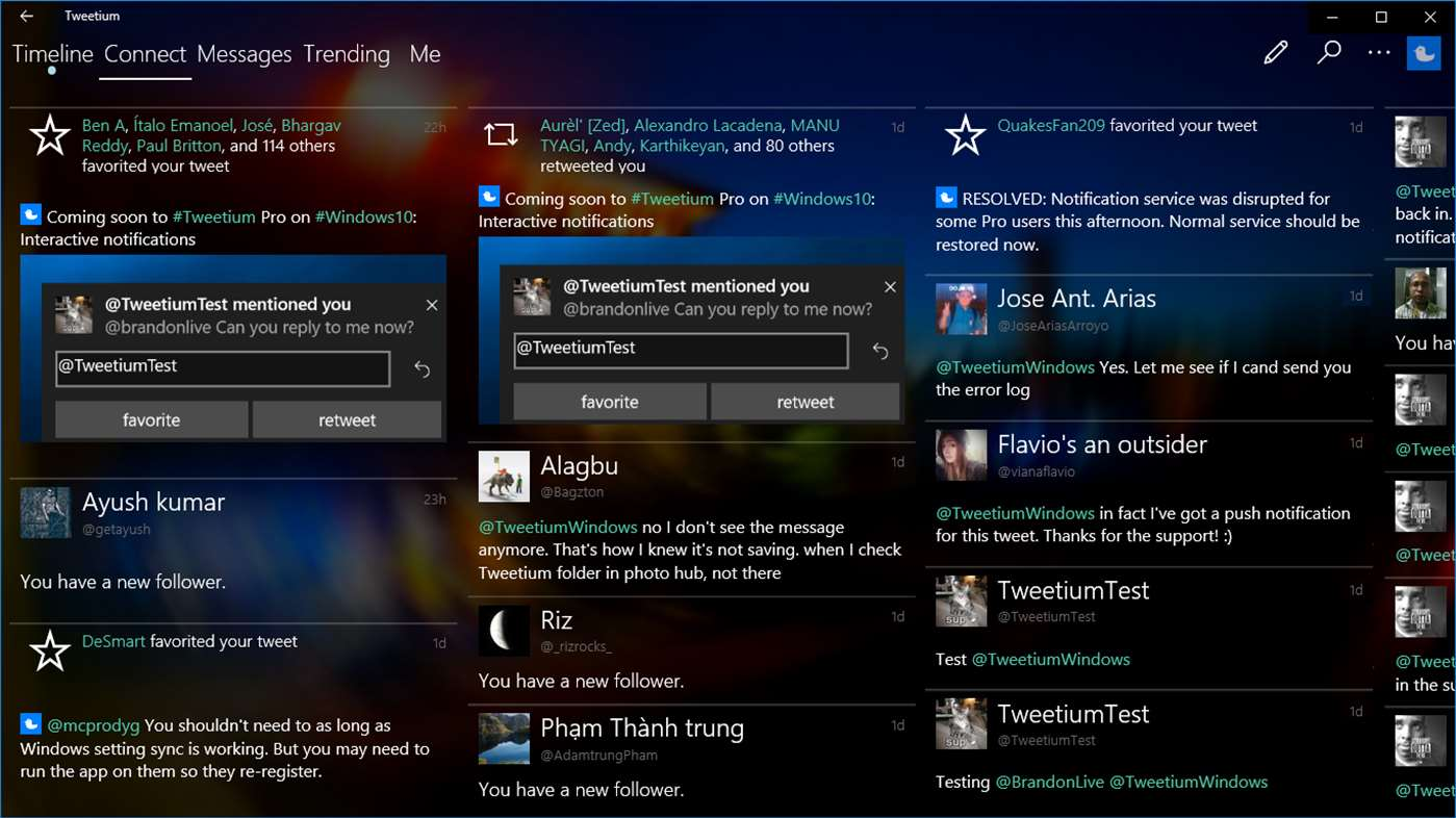 Tweetium Pro for Windows 10 Discontinued Due to Twitter Changes