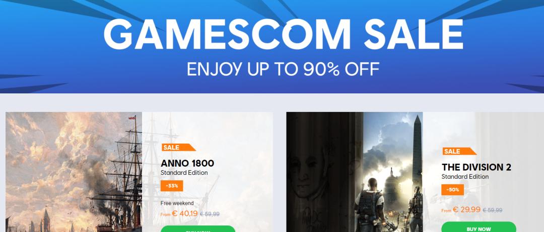 Uplay Gamescom Sale Has Some Sweet Deals