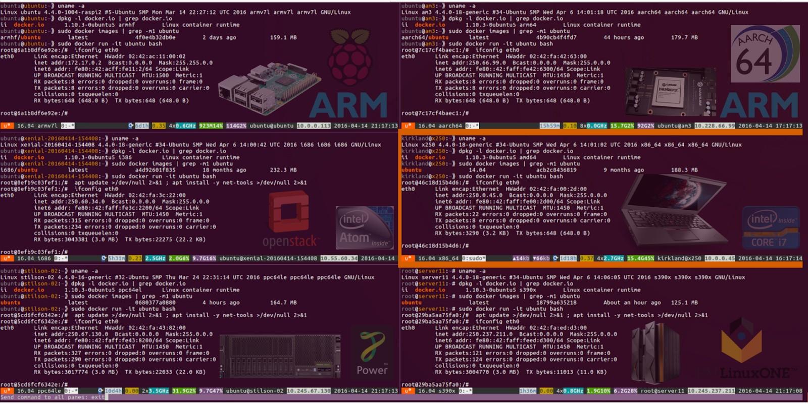 ubuntu 16 04 lts brings docker 1 10 with fan networking to every