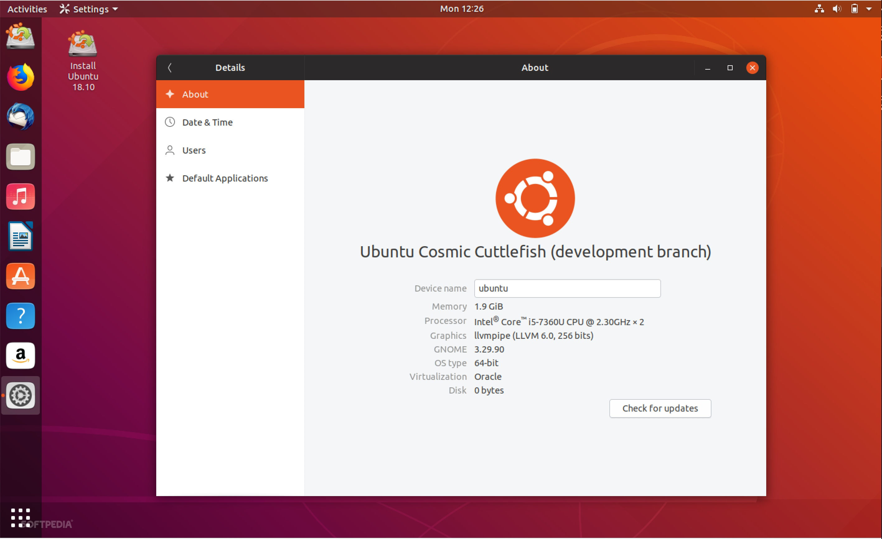 Ubuntu 18 10 (Cosmic Cuttlefish) Daily Lives Now Ship with Yaru